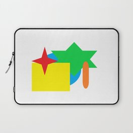 Colorful Shapes Laptop Sleeve