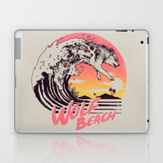 Wolf Beach Laptop & iPad Skin
