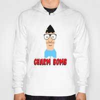 tina Hoodies featuring Charm Bomb  |  Tina Belcher  by Silvio Ledbetter
