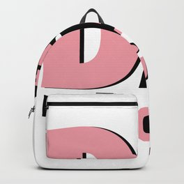 Proud New Dad It's a Girl Gift Men New Daddy Backpack