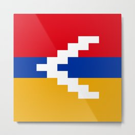flag of Artsakh Metal Print