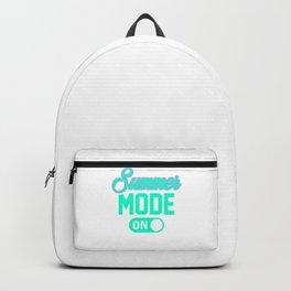 Summer Mode ON tp Backpack