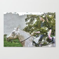 A Spark in the Trees Canvas Print