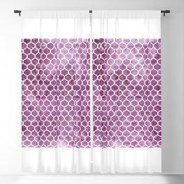 Rose Trellis Pattern Blackout Curtain