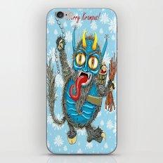 Merry Krampus! iPhone & iPod Skin