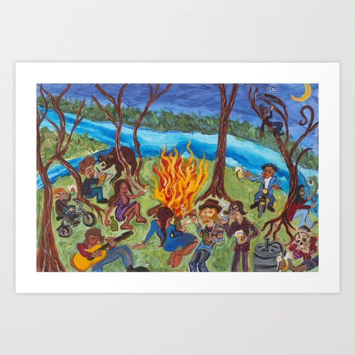 KEGGA Art Print