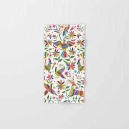 Mexican Otomí Design Hand & Bath Towel