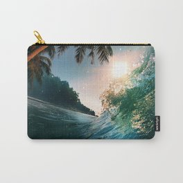 Photography - Beach - Waves - Palm Trees - Ocean  Carry-All Pouch