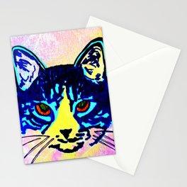 Pop Art Cat No. 2 Stationery Cards