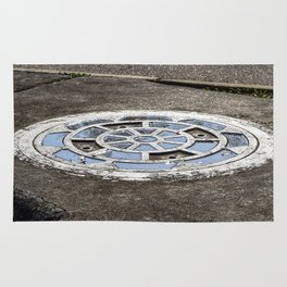 Storm Drain After The Rain Rug