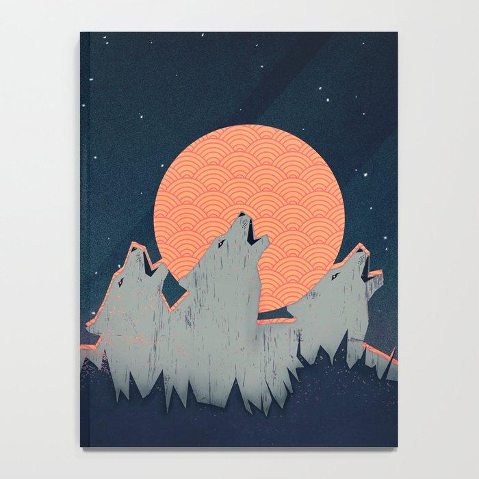 Howling Moon Notebook