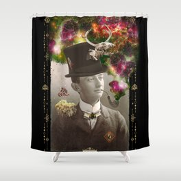 Odd Boy Shower Curtain