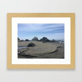 California's Klamath Beach Framed Art Print
