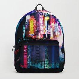 Tokyo Cyberpunk Japan Backpack