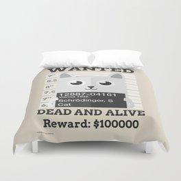 Schrödingers Cat Duvet Cover
