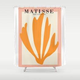 Henri matisse the cut outs contemporary, modern minimal art Shower Curtain