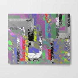 Textured Exclusion I Metal Print