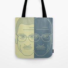 Breaking Bad - Faces - Double Walter White Tote Bag