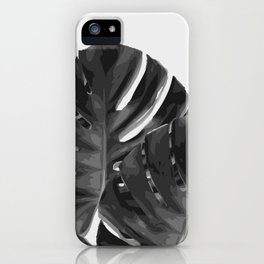 Monstera_Le_2 iPhone Case