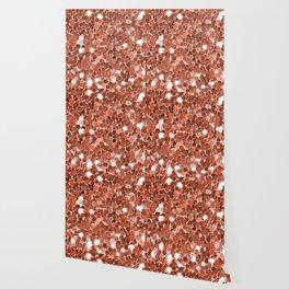 Rose gold glitter  II Wallpaper