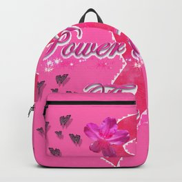 Power Pink for the Cure - Butterfly Blitz Backpack