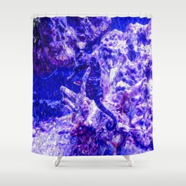 Find the Seahorse Shower Curtain