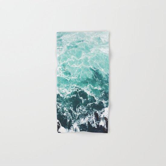 Blue Water Hand & Bath Towel
