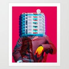 Der Wohnungswirt Art Print