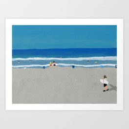 summer california Art Print