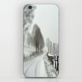 cold fence iPhone Skin