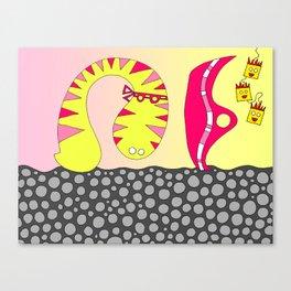 #106: Tryptophobia Canvas Print