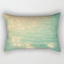 Showering in Sparkling Sunshine Rectangular Pillow