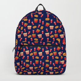 Fast food party Backpack