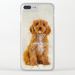 Cockapoo Clear iPhone Case