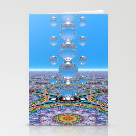 Crystal Totem Stationery Cards
