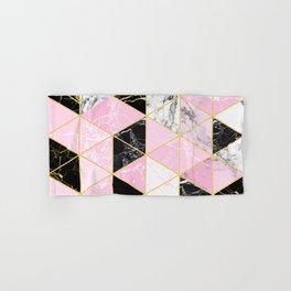 Geometric 964 // Sweet Peony Hand & Bath Towel
