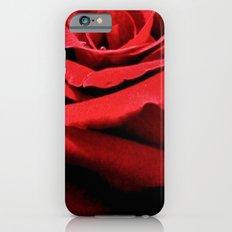 Red Rose iPhone 6s Slim Case