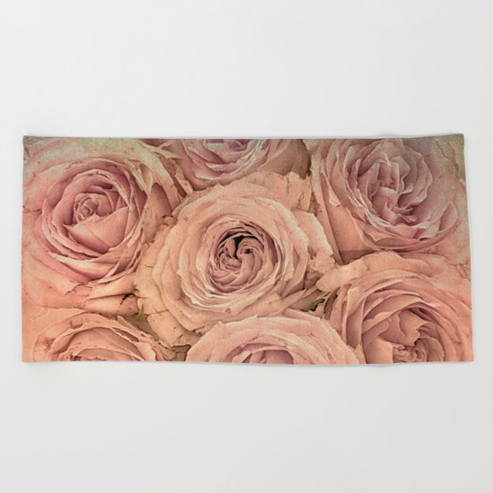 Romantic roses(14) Beach Towel