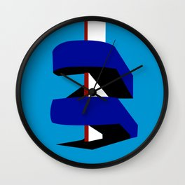 BFI Stairwell Wall Clock