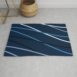 WAVE GRAPHIC Rug