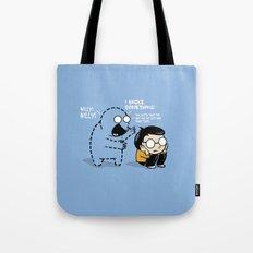 Worst Imaginary Friend Ever Tote Bag