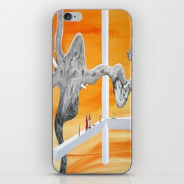 Pachyderm Cannibalism iPhone Skin