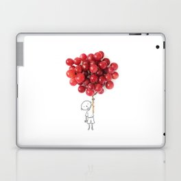 Boy with grapes - NatGeo version Laptop & iPad Skin