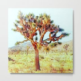 Joshua Tree VG Hills by CREYES Metal Print