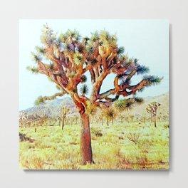 Joshua Tree VG Hills by CREYES Metal Print