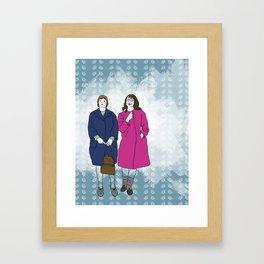 Street Tough Framed Art Print
