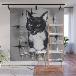 Witches Cat Wall Mural