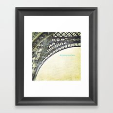 We will always have Paris Framed Art Print