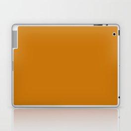 Vintage New England Shaker Village Dark Pumpkin Milk Paint Laptop & iPad Skin