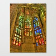 Sagrada Família, Barcelona, Spain Canvas Print